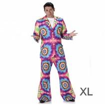 Carnival costumes - kostuum - Tie Dye Suit - XL