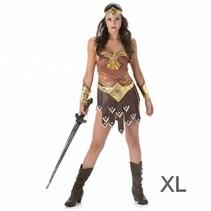 Partychimp - Kostuum - Gladiatorvrouw - XL
