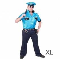 PartyXplosion - Kostuum - Politie - Macho - XL