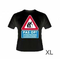 Paperdreams - T-shirt - Pas op, hangouderen - XL