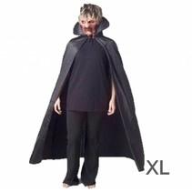 PartyXplosion - Draculacape - Luxe - Zwart - XL