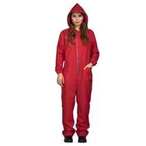 My Other Me - Overall met capuchon vrouw - Rood - M/L