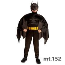 Partychimp - Kostuum - Batman - Gespierd - mt.152