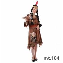 PartyXplosion - Kostuum - Jurk - Indiaan - mt.104*