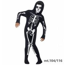 Smiffy's - Kostuum - Skelet - Onesie - mt.104/116