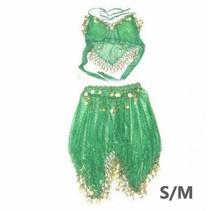 *PartyXplosion - Kostuum - Buikdanseres - Groen