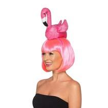 Smiffys - Diadeem - Flamingo - Roze