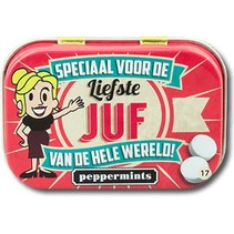 Paperdreams - Retro mints - Liefste juf