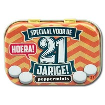 Paperdreams - Retro mints - 21 Jarige
