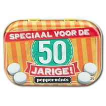 Paperdreams - Retro mints - 50 Jarige
