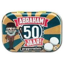 Paperdreams - Retro mints - Abraham 50 jaar