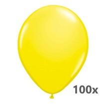 Festival - Ballonnen - Geel - Metallic - 28cm - 100st.