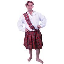 PartyXplosion - Kostuum - Schotse kilt - XL/XXL