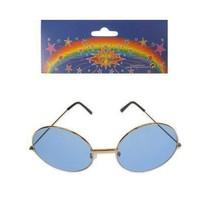 PartyXplosion - Bril - John Lennon - Blauw - Groot
