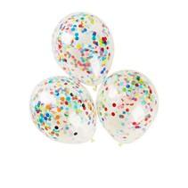 Adic - Ballonnen - Met confetti - 6st.