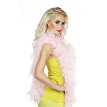 Partychimp - Boa - Licht roze - 180cm/50 gram