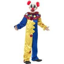 Smiffys - Kostuum - Clown - mt.128/140