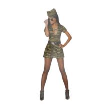 Wilbers - Kostuum - Jurk - Sexy soldaat - S - 2dlg.