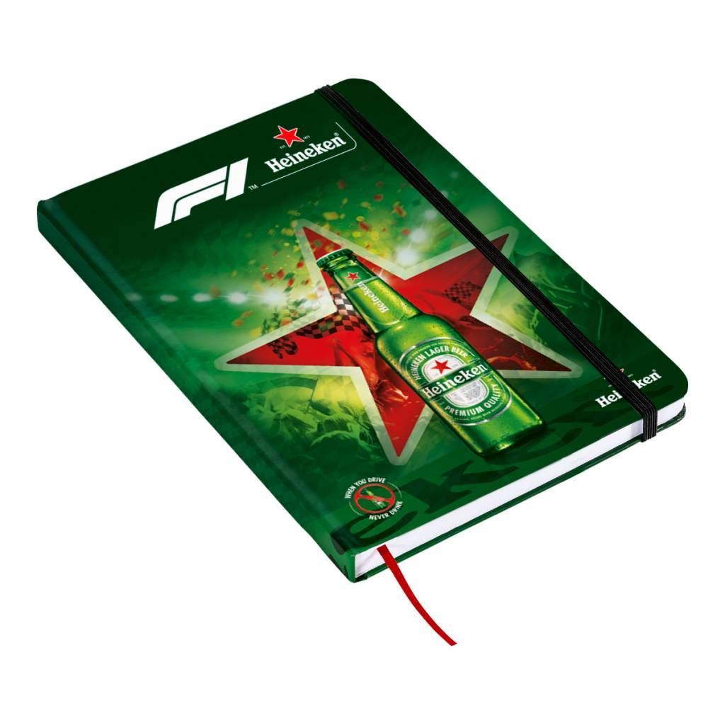 Heineken Formula 1 2018 Notebook