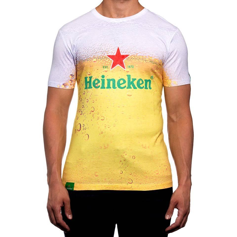 Heineken Beer T-shirt men with logo