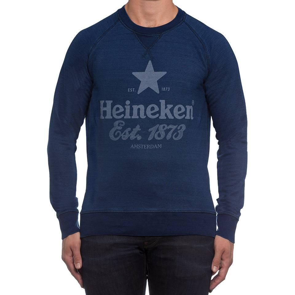 Heineken Vintage-style Mens Sweater