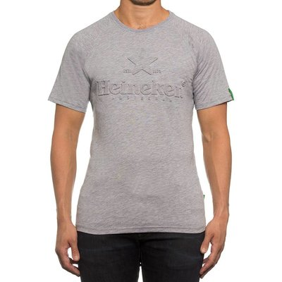 Heineken Grey round neck Mens T-shirt