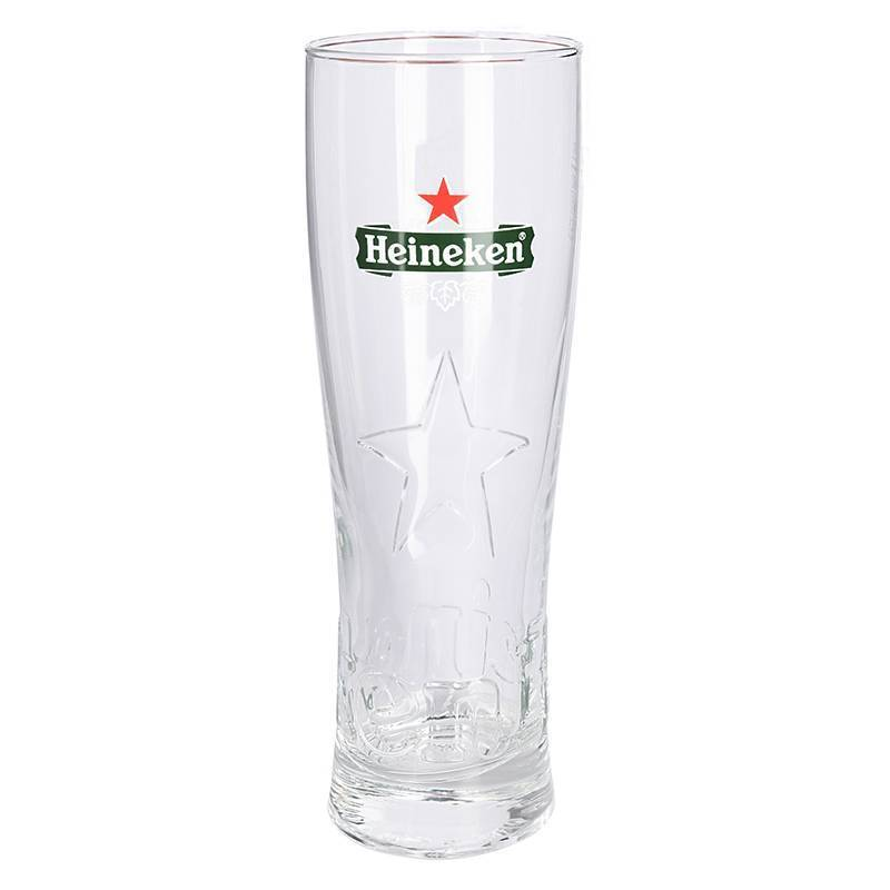 Heineken Glasses with Star (6 pcs)
