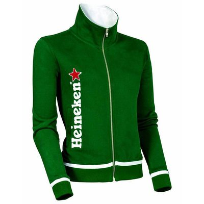 Heineken Green Sweatshirt Women