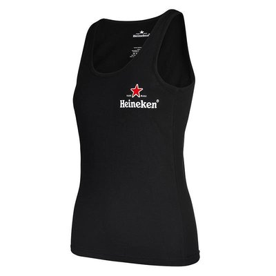 Heineken Black Tank Top Women