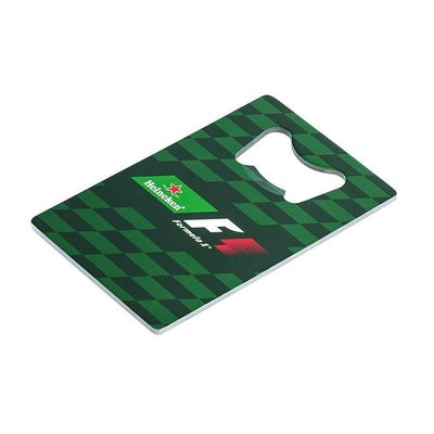 Heineken Formula 1 Credit Card Bottle Opener