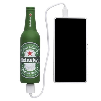 Heineken Bottle-Shaped Power Bank