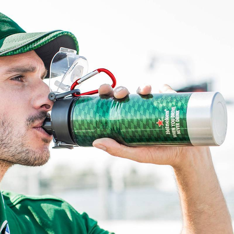 Heineken Formula 1 Water Bottle