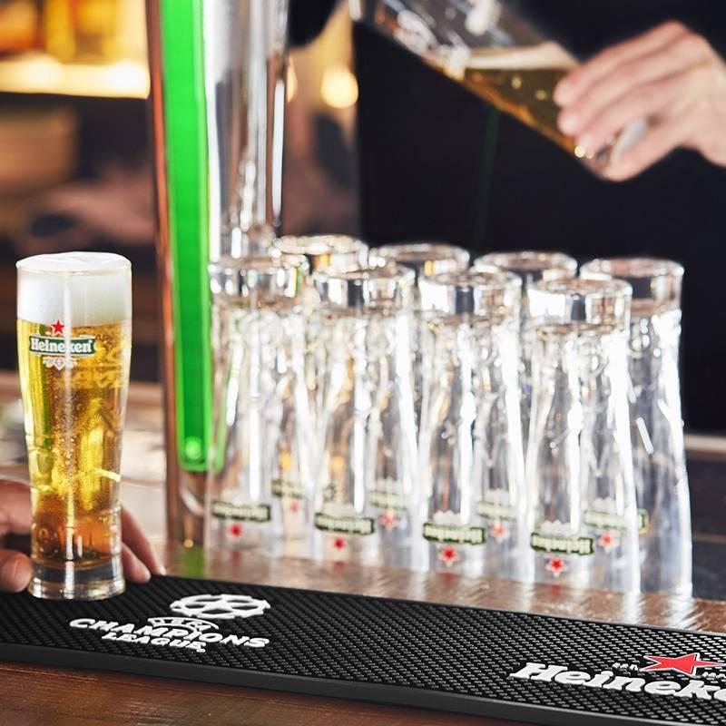 Heineken UEFA Champions League Beer Drip Mat