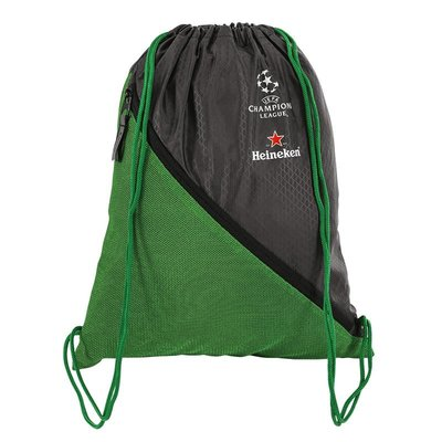 UEFA Champions League Green Drawstring Bag