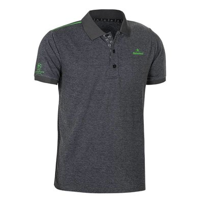 Heineken UEFA Champions League Men's Grey Polo Shirt
