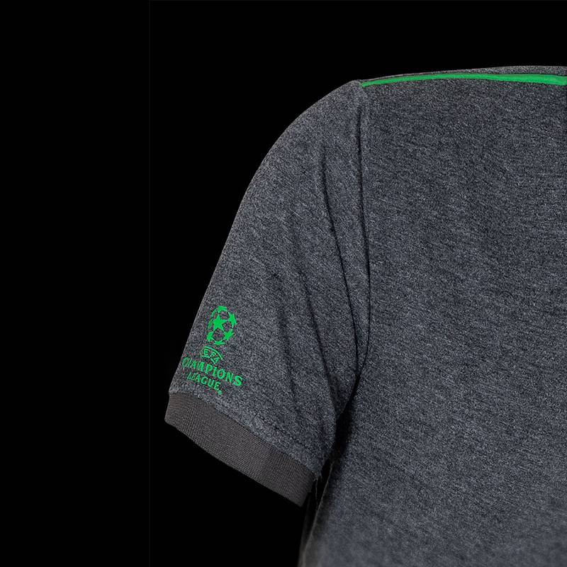 Heineken UEFA Champions League Men's Grey Polo Shirt