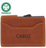 Heineken Retro  leather credit card holder