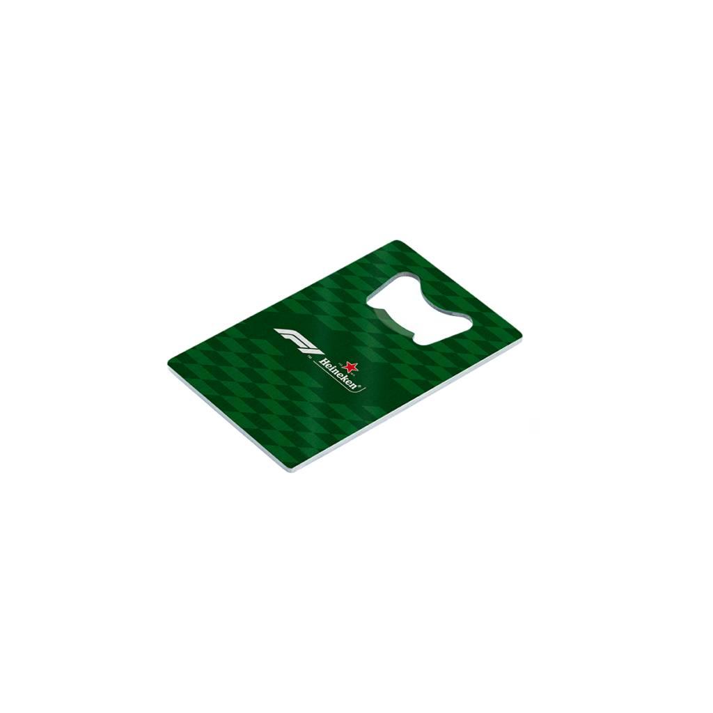 Heineken Formula 1 2018 Credit Card Bottle Opener