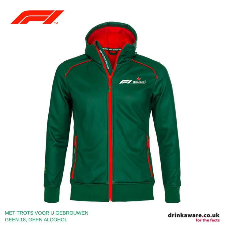 Heineken Formula 1 2018 Hooded Sweater Men