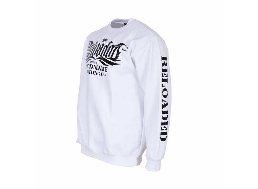 Sweatshirt The No. 1 - Weiss