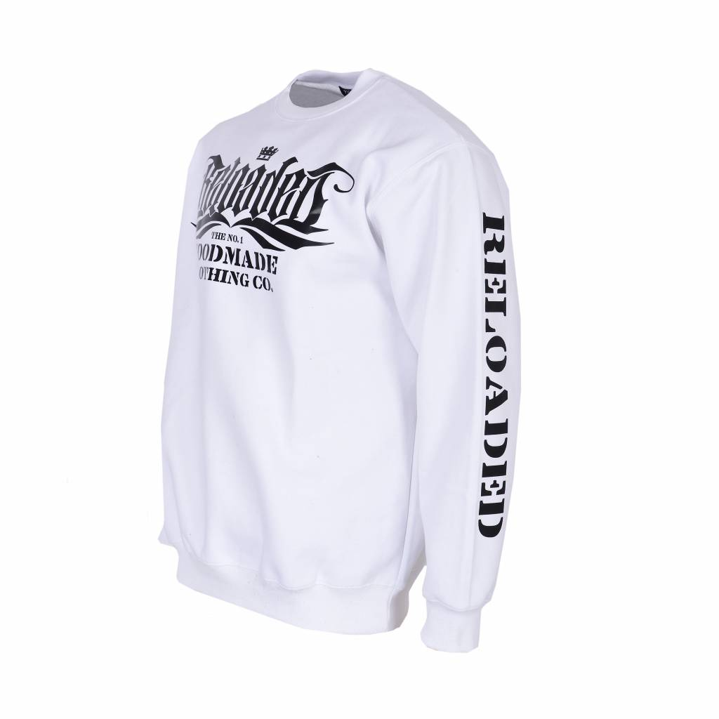 Sweatshirt The No. 1 - Weiss