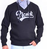 Picaldi Sweatshirt mit Schalkragen - Schwarz