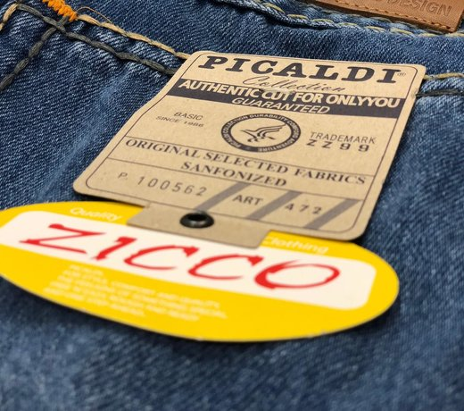 Zicco 472 Jeans - Der Klassiker