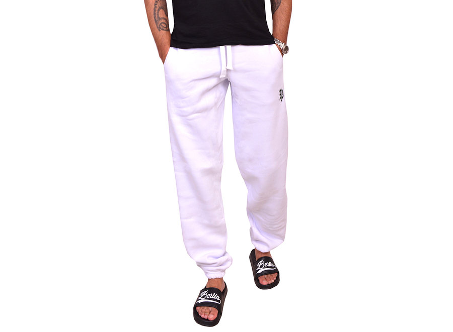 P Jogginghose White/Weiss
