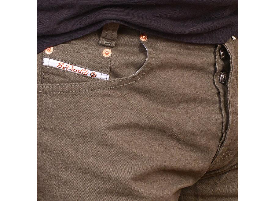 New Zicco 473 Jeans - Gabardine Khaki