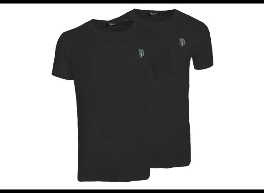 Shirt im Pack- Carta (Schwarz & Schwarz)