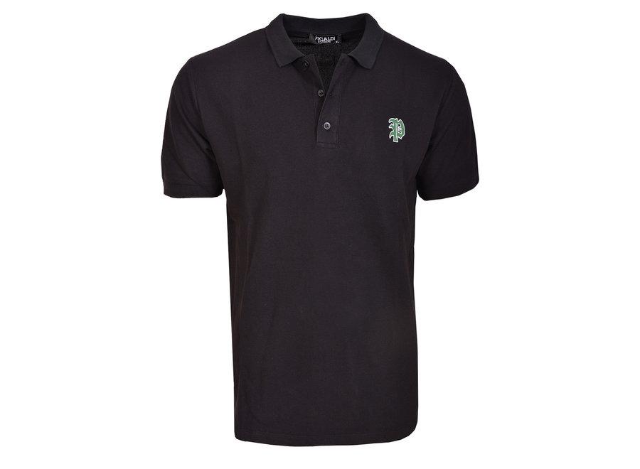 Poloshirt-Black/Schwarz