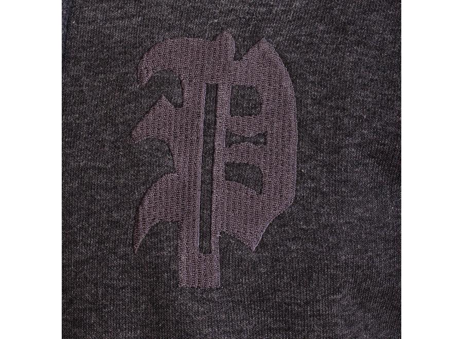 Initial Hoodie-Anthrazit