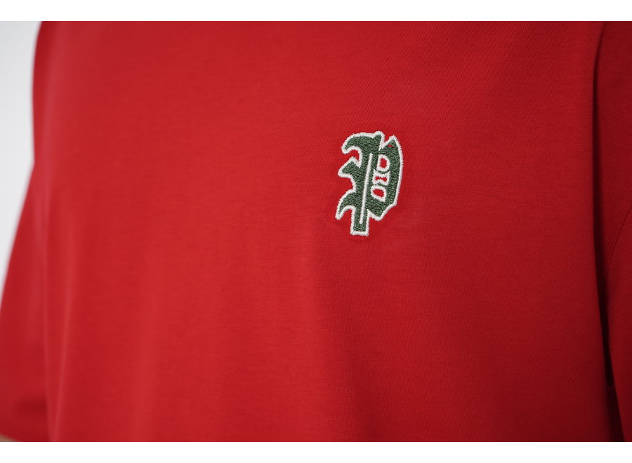 Long Fit Shirt Red - Carta