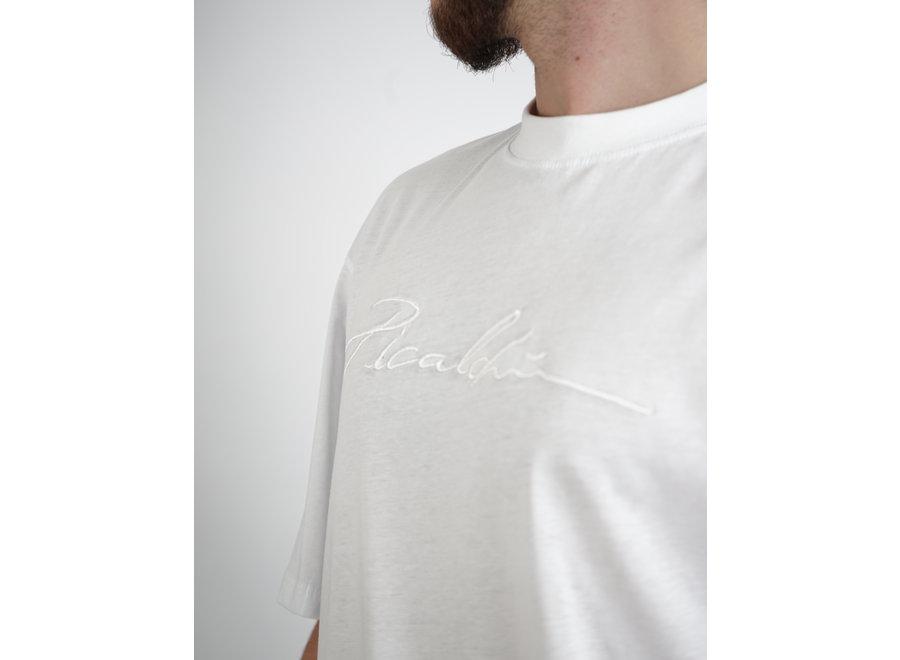 Long Fit Shirt White - Signature